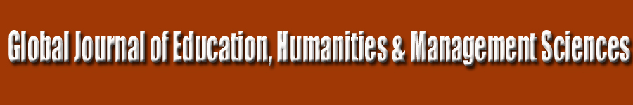 Global Journal of Education, Humanities & Management Sciences